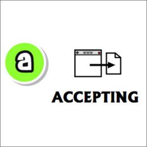 Symbol accepting