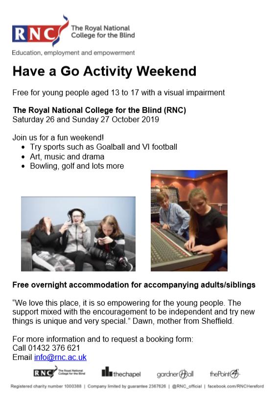 RNCB Activity poster