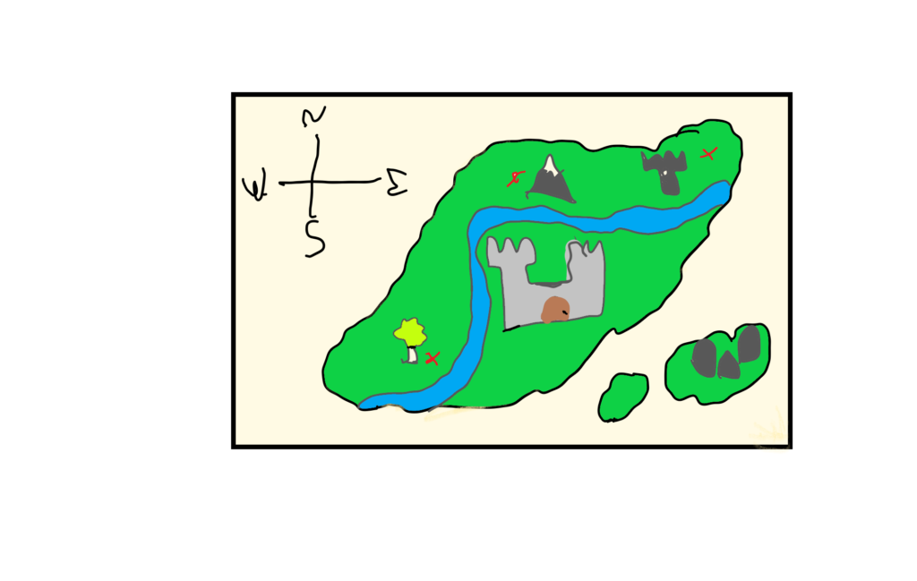 Illustration of a map