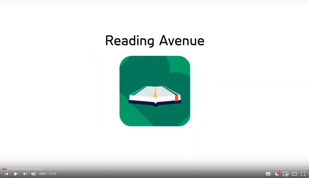 SCreen grab of reading avenue