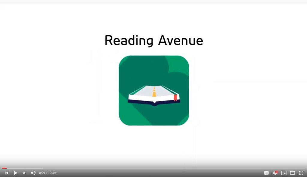 SCreen grab of reading avenue