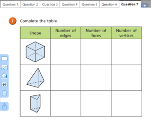 Recognise and describe 3D shapes