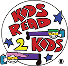 Kids Read 2 Kids in graffiti font