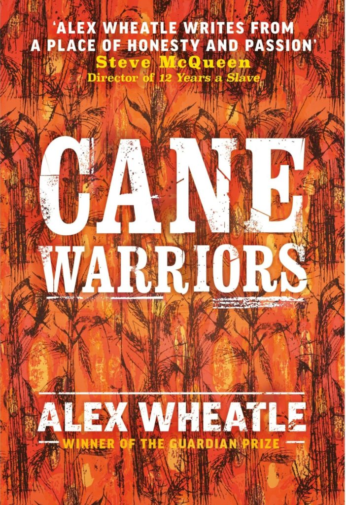 Can Warrior cover - text and brown background