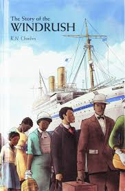 Cover Windrush - boat and people in the foreground