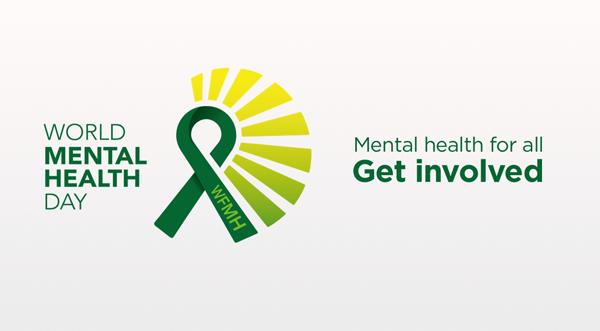 World Mental Health Day green logo